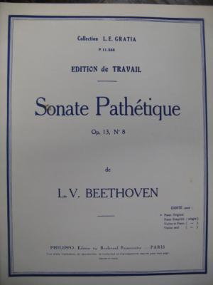 Sonate Pathétique (0p.13 – 2nd mouvement -)